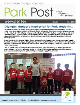Park Post Issue 05 Frontcover