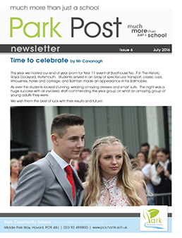 Park Post Issue 06 Frontcover