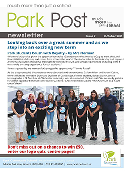 Park Post Issue 07 Frontcover