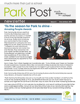 Park Post Issue 08 Frontcover