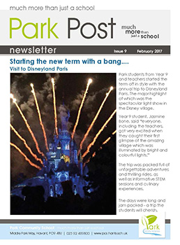 Park Post Issue 09 Frontcover