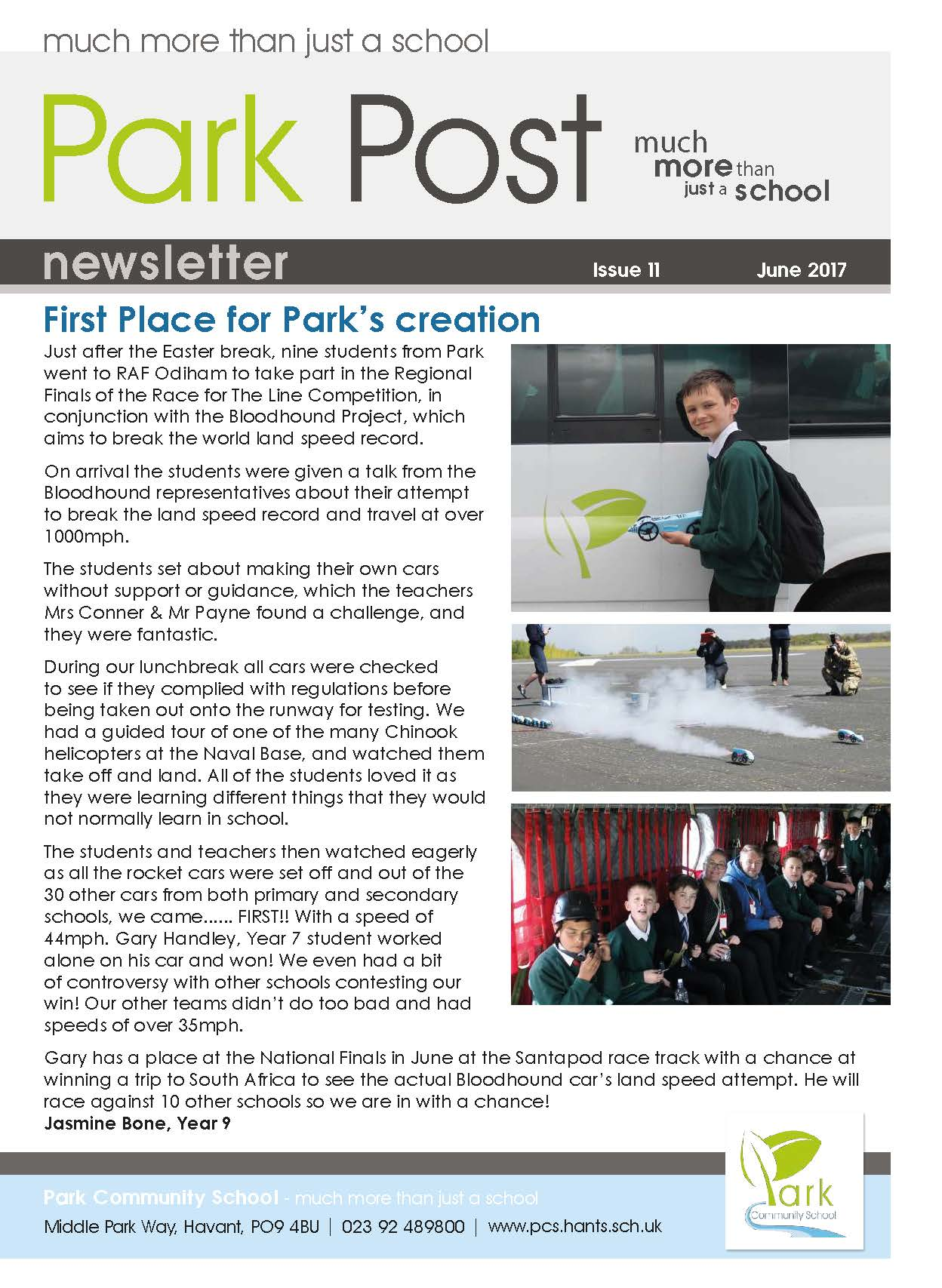 Park Post Issue 11 Frontcover