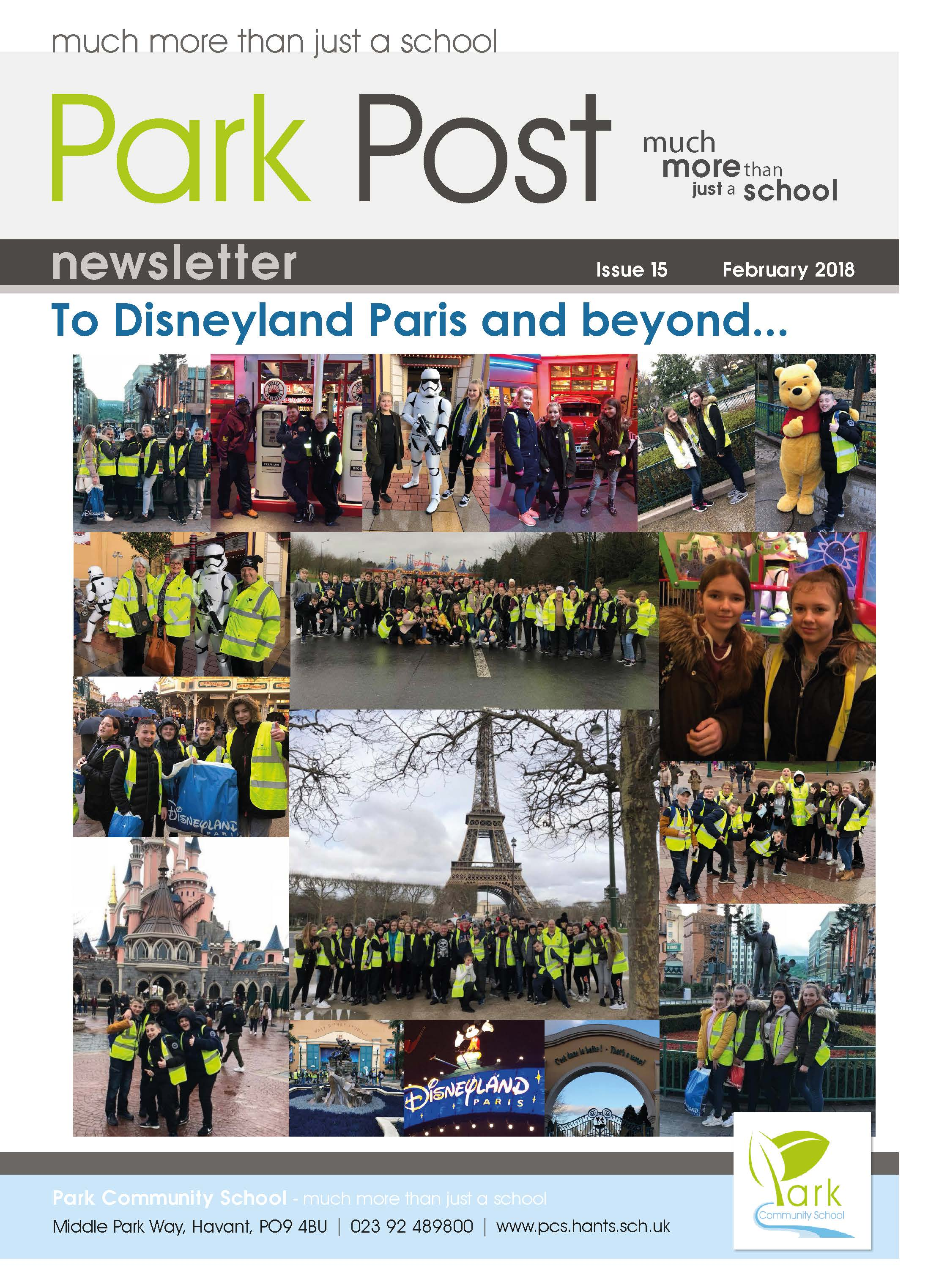 Park Post Issue 15 Frontcover