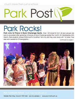 Park Post Issue 19 Frontcover