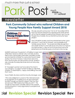Park Post Issue 20 Frontcover