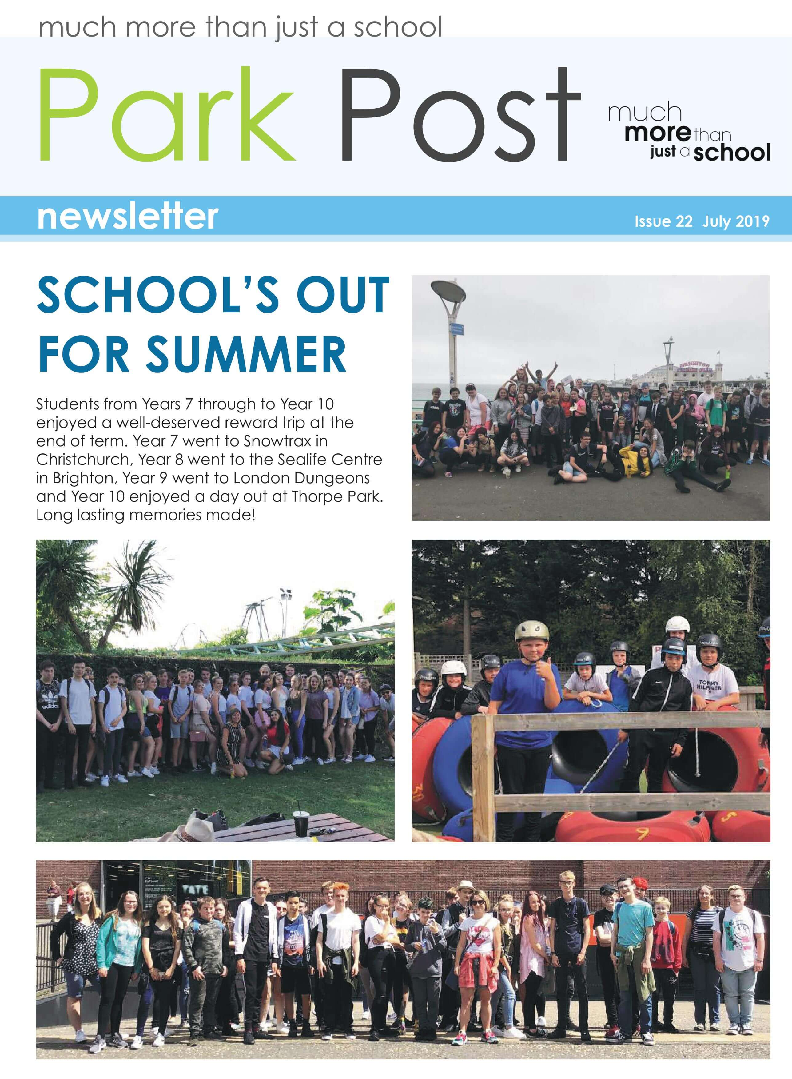Park Post Issue 22 Frontcover
