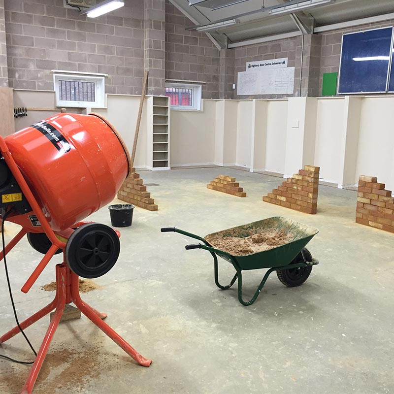 Park Community School Apex Centre - Bricklaying, Plastering, Tiling, Painting and Car Mechanics