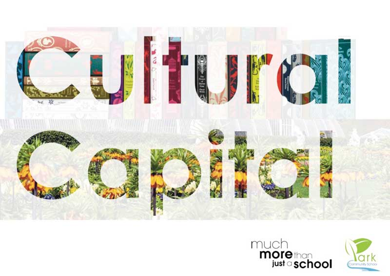 Park Community School's Cultural Capital Booklet frontcover