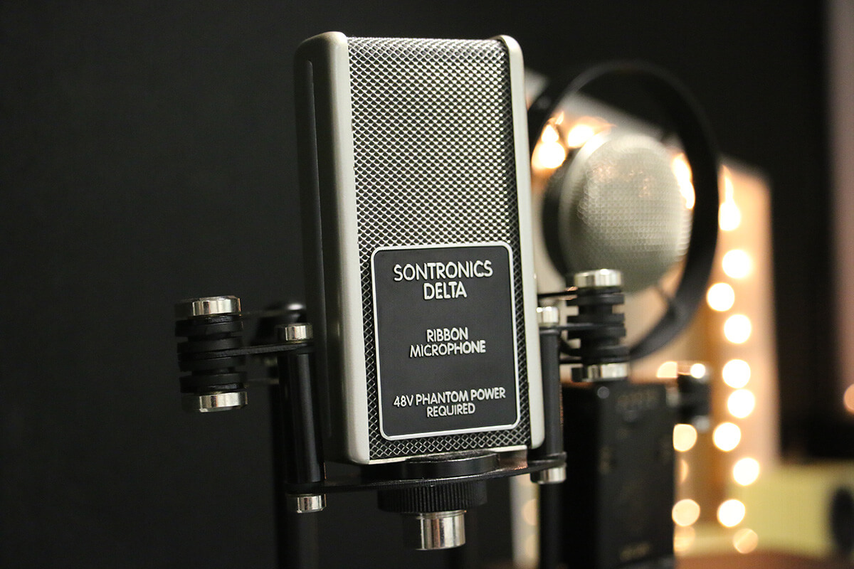 Park Community School The Suite, Sontronics partnership deal - bringing the best of British microphones